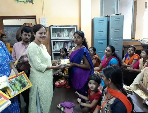 Ex- Students Drawing Books and Crayon Distribution Program–VPM's Kannada Primary School,  Mulund