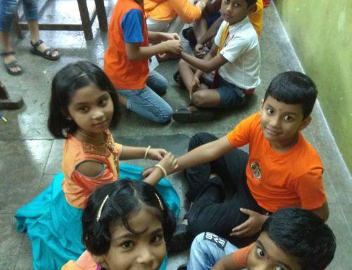 Celebration of Raksha Bandhan 2018-19—VPM's B R TOL ENGLISH HIGH SCHOOL, Mulund