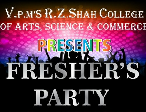 Fresher's Party 2018-19–VPM's R Z Shah College- Mulund