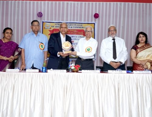 Annual Prize Distribution Function 2018-19—VPM's R Z Shah College, Mulund