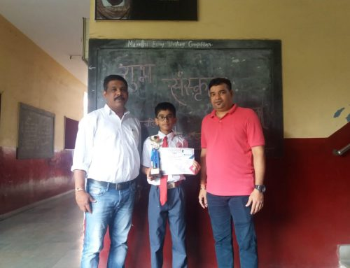 6th place in RAPID CHESS TOURNAMENT–VPM's B R Tol English High School, Mulund