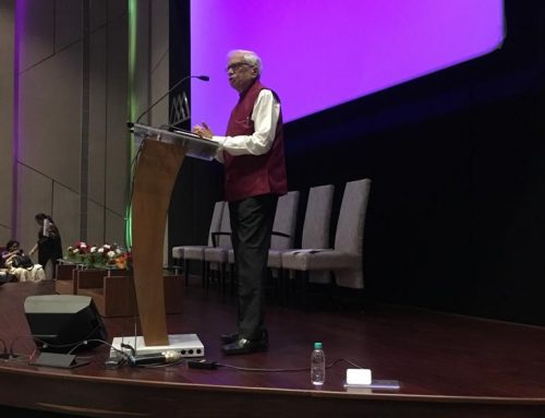 Chairman, VPM's Centre for International Studies (CIS) attended the 9th International Conference 2019-20–VPM's CIS, Mulund
