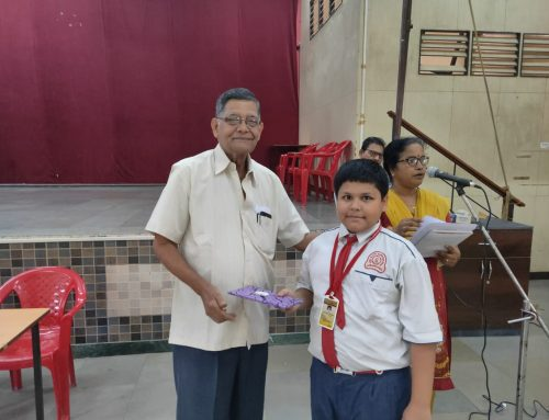 Prize Distribution Ceremony of Elocution Competitions for V-VIII 2019-20—VPM's B R Tol English High School, Mulund