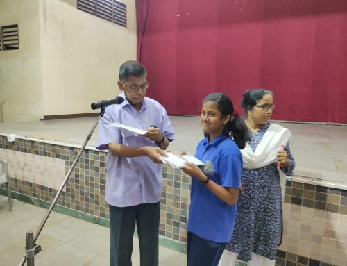 Elocution Competition IX – X 2019-20–VPM's B R Tol English High School, Mulund
