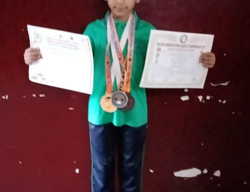 Richa Shet of VI A wins 1st Prize at Kai Sub Junior National Karate Competition 2019-20–VPM's B R Tol English High School, Mulund
