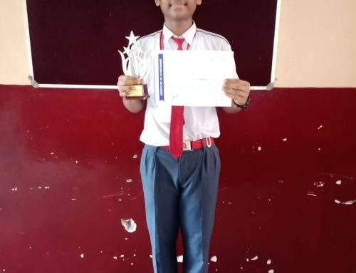 Mst.Vivek V wins 1st Prize at Interschool Table Tennis Tournament 2019-20–VPM's B R Tol English High School, Mulund