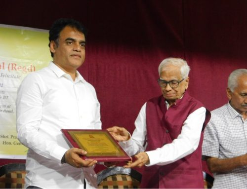 Felicitation of Deputy Chief Minister of Karnataka, Dr. Ashwath Narayan on 15th Oct 2019.– VPM's Kannada High School & Junior College, Mulund