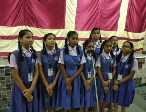 Intraschool Group Song competition 2019-20–VPM's Kannada High School & Junior College, Mulund