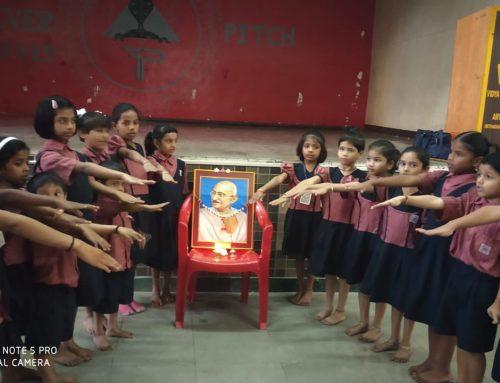 Gandhiji punyatithi celebration 2019-20–VPM's Kannada Balwadi & Primary School, Mulund
