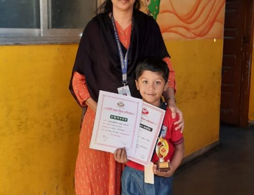 Winners of Amarkosha Recitation Competition 2019-2020 –VPM's Dolphin Kids & English Primary School, Mulund