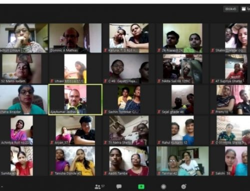 Zoom meeting with Parents of class XII Students (2020-2021)–VPM's Kannada High School & Junior College, Mulund