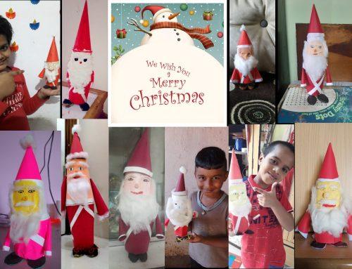 Std 3 Christmas Celebrations 2020-2021–VPM's Dolphin kids & English Primary School, Mulund (E)